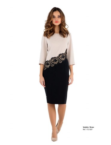 robe 172507 noire/marron...