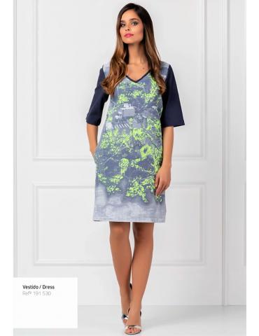 robe coton 191530 imprimé...